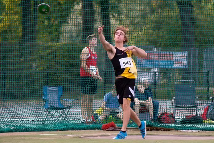 Sprint-atleet Sjoerd Pastoor in actie op archiefbeeld.