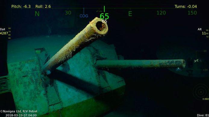 De USS Juneau is weer in beeld.