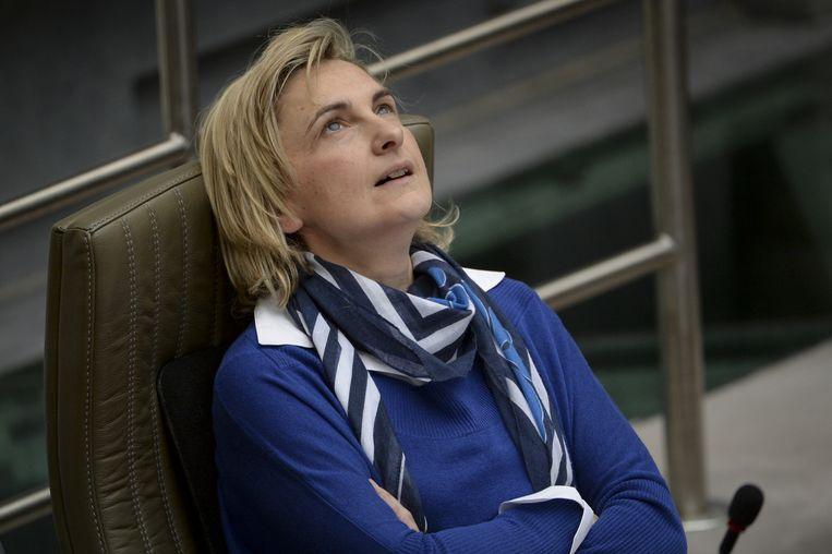Vlaams minister van Mobiliteit Hilde Crevits (CD&V).