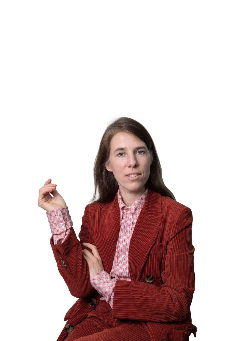 Eva Meijer. Beeld Werry Crone