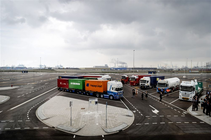 Als voorbeeld dient de Maasvlakte Plaza in Rotterdam, een vrachtwagenparkeerplaats met tal van voorzieningen.