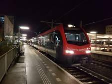 Minder treinen Gouda – Alphen tot donderdagavond door spoorverzakking