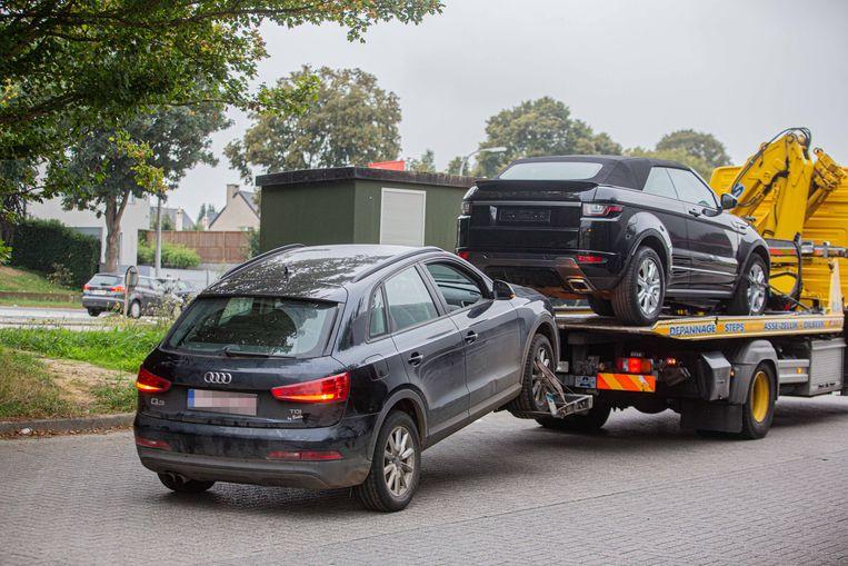 Ook verschillende SUV's werden meegenomen.