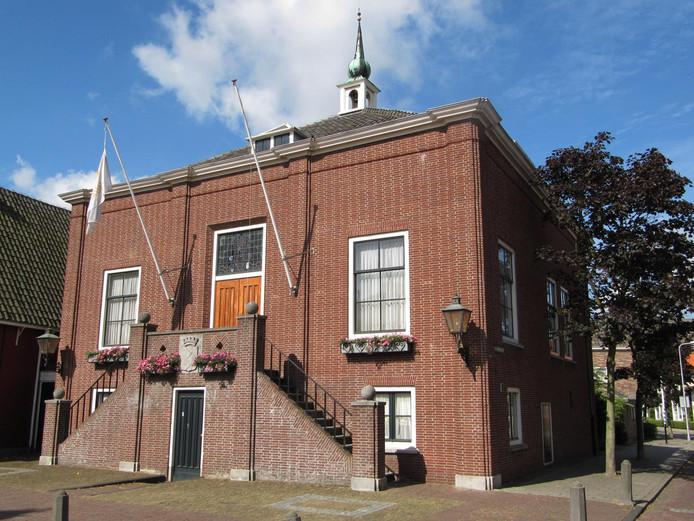 Het voormalige raadhuis van Maasland.