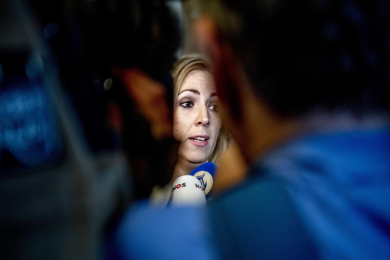 Lilian Marijnissen van de SP geeft een reactie op de teleurstellende resultaten.