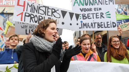 't Is vakantie en klimaatprotest bekoelt