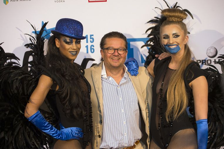 Ook KV Oostende-voorzitter Marc Coucke is van de partij.