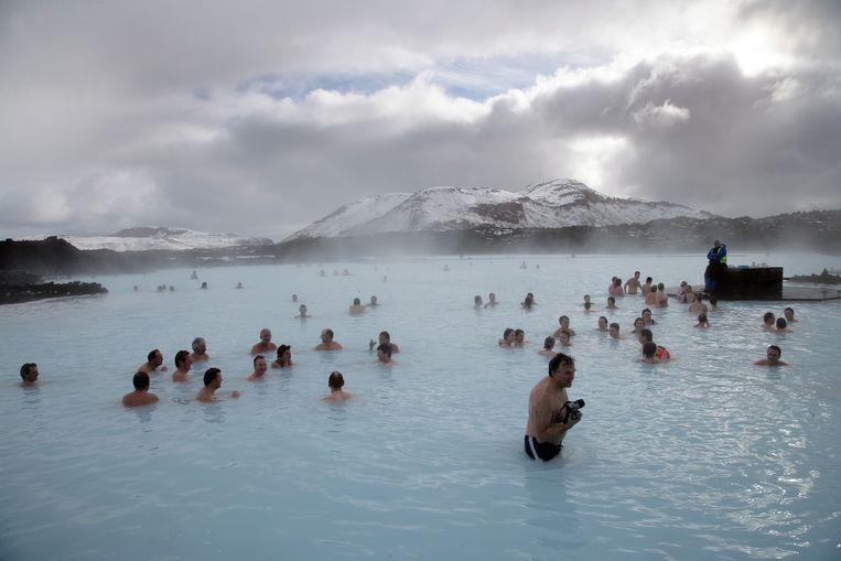 Mount Horbjörn ligt vlakbij de bekende wellnessbestemming Blue Lagoon.