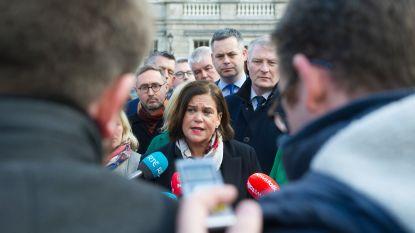 Fianna Fáil wil niet regeren met linkse Sinn Féin in Ierland