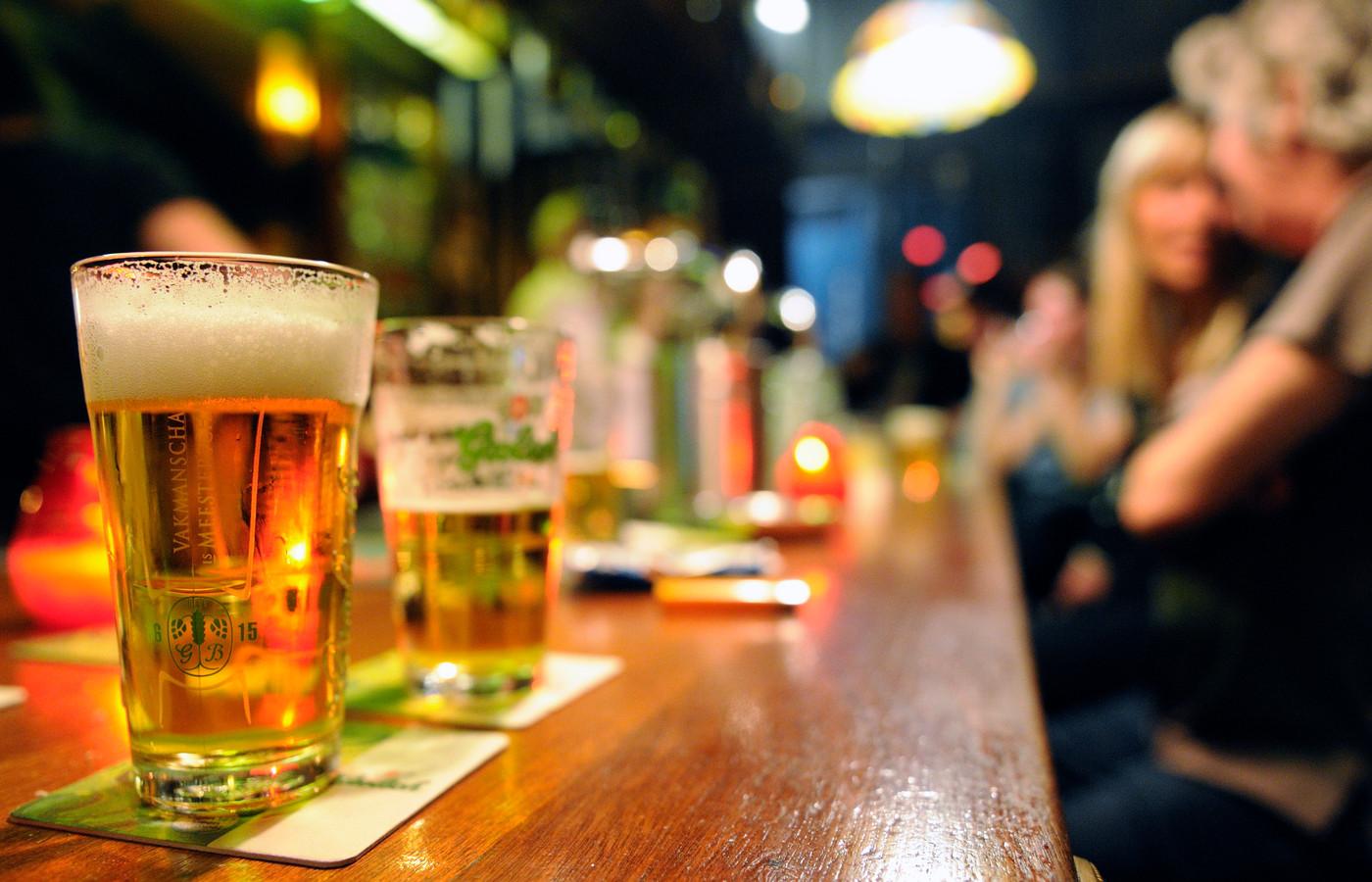 Foto ter illustratie, niet de betreffende bar.