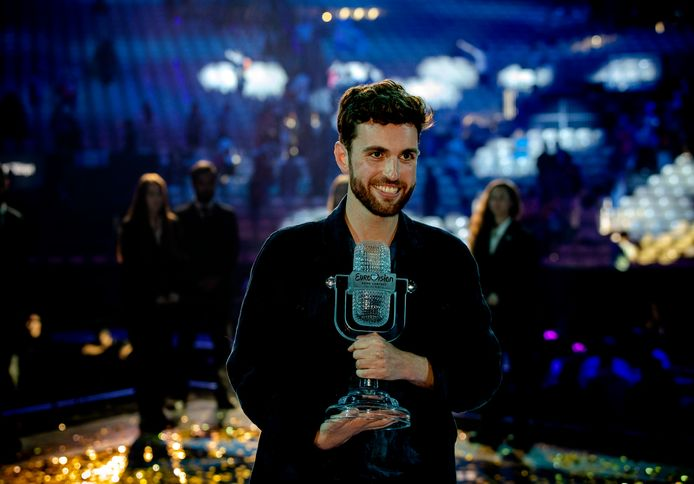Duncan Laurence won vorig jaar het Eurovisie Songfestival.