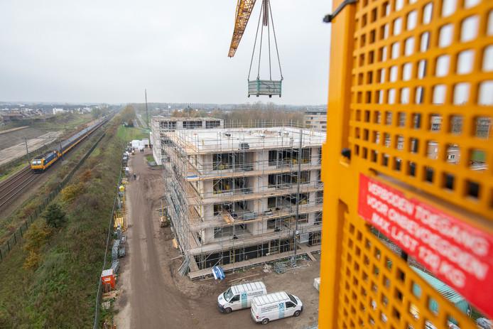 Nieuwbouwproject Dongewijk bereikt het hoogste punt.