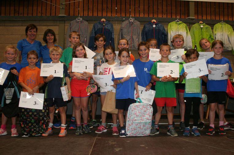 De jonge prijswinnaars