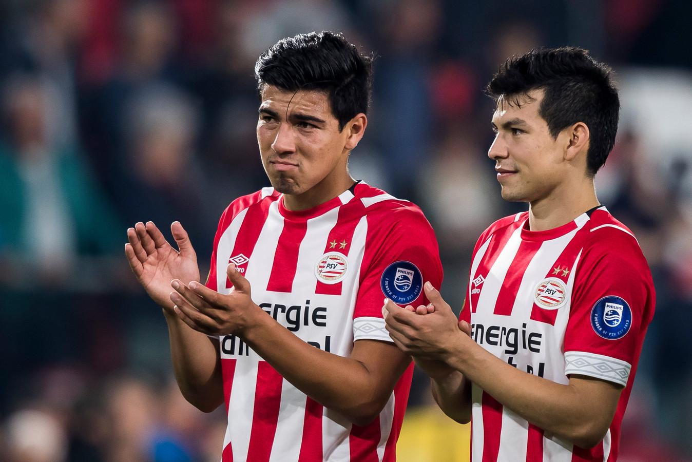 De populariteit van Érick Gutiérrez en Hirving Lozano is in Mexico groot. PSV kan daar sportief en commercieel munt uit slaan.