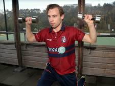 Sijbrand Bolhuis (KZ) werkt na knieblessure hard aan herstel: 'Niet te vroeg beginnen'