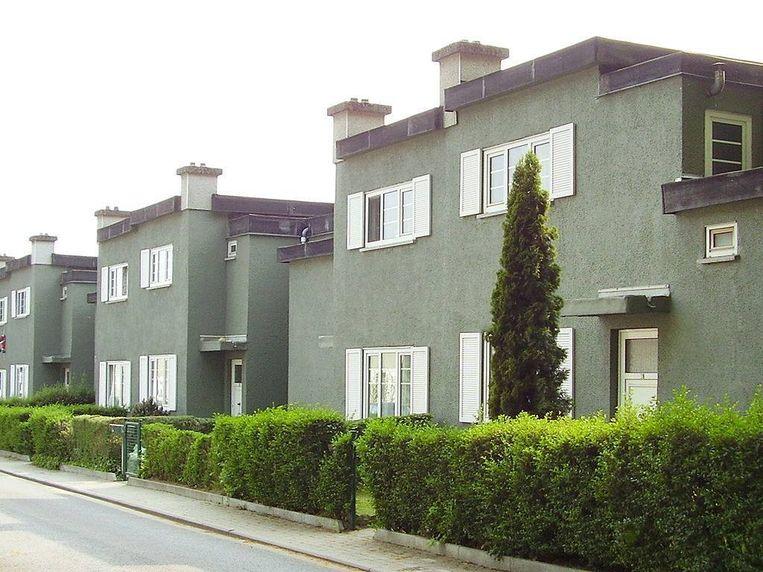 Sint-Pieters-Woluwe | In de wijk Kapelleveld zijn de gevels kleurrijk.