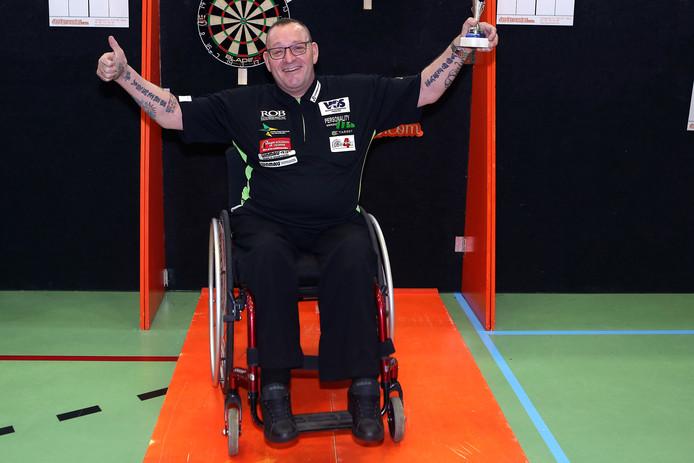 Uniek internationaal toernooi voor gehandicapte darters in Den Haag