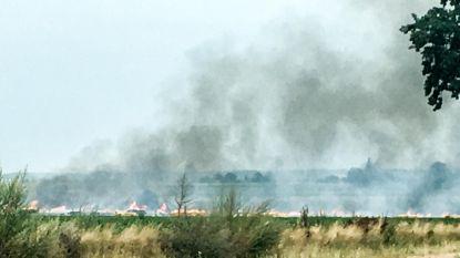 Drie natuurbranden in één weekend