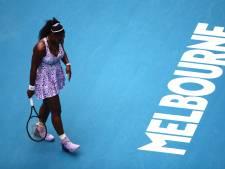 Serena Williams uitgeschakeld na nederlaag tegen Chinese Wang
