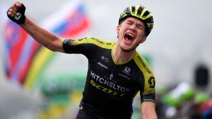 Kletsnatte vierde etappe in Ronde van Zwitserland is prooi voor Christopher Juul-Jensen
