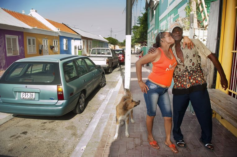 Straatbeeld op Curaçao, 2012. Beeld An-Sofie Kesteleyn
