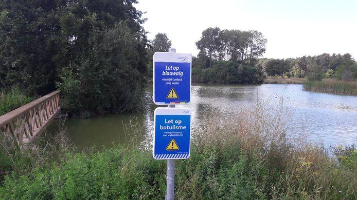 Waterrijk in Meerhoven.