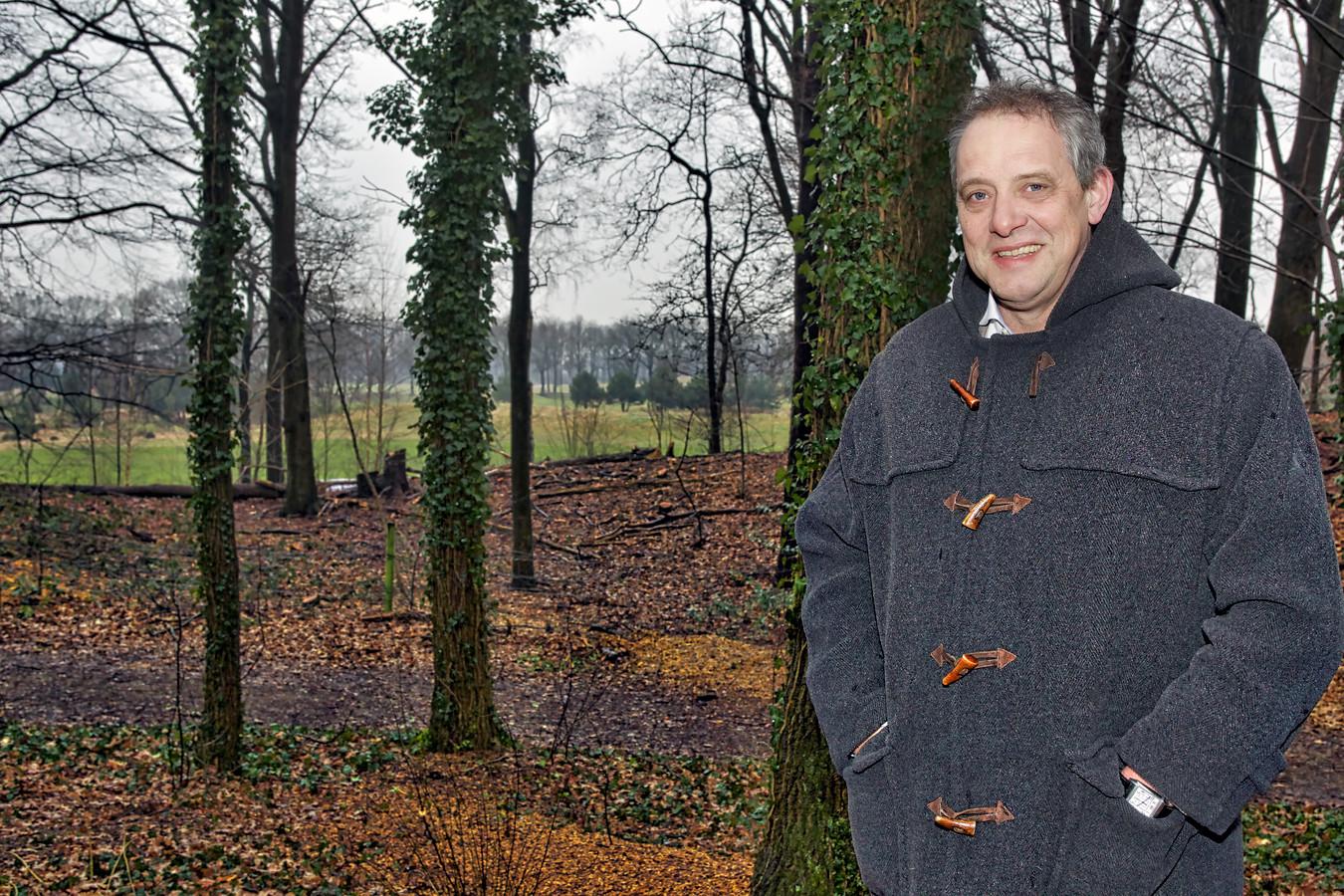 Unknown IPTCBron  Johan Wouters;C Johan Wouters 2016  Paul Wesel, eigenaar van Landgoed Bergvliet in Oosterhout. Naast de bouw van een wellnesscentrum, worden er ook woningen gebouwd bij de Bergvlietse bossen.