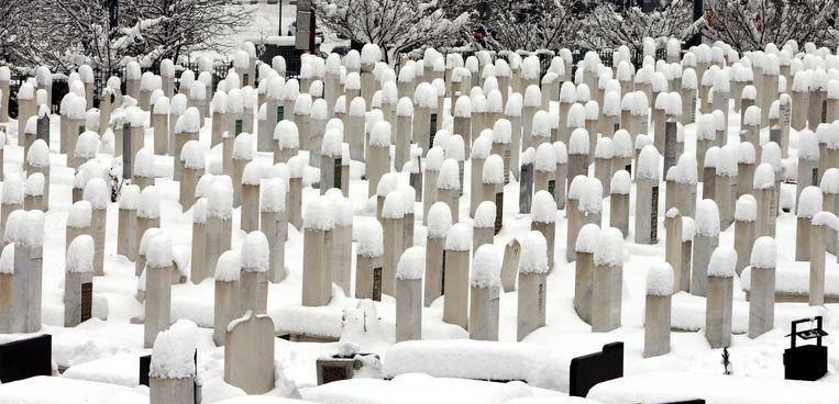 De oudere bevolking in Bosnië heeft zich over het oorlogstrauma heen gezet.  Beeld EPA