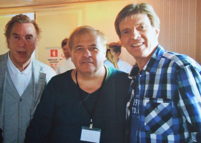 Erik Lemmens met Will Tura en Paul Severs.