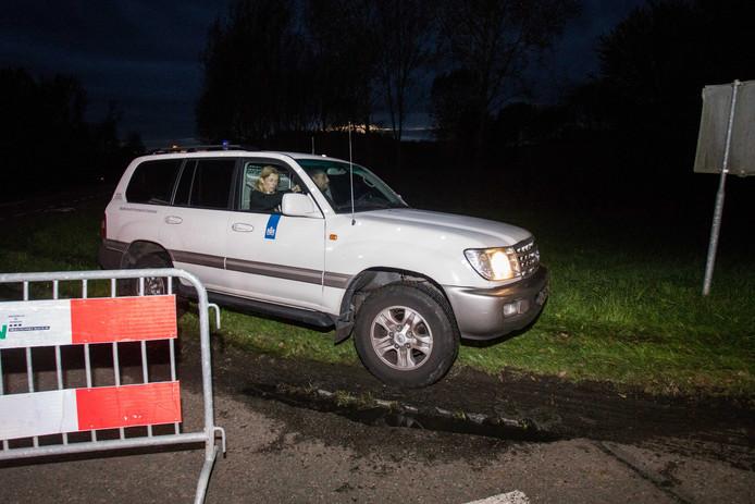 2017-10-11 19:21:57 ZEEWOLDE - De politie zoekt naar de vermiste Anne Faber in de buurt van een golfterrein in Zeewolde. De Utrechtse wordt al ruim anderhalve week vermist. ANP SEM VAN DER WAL