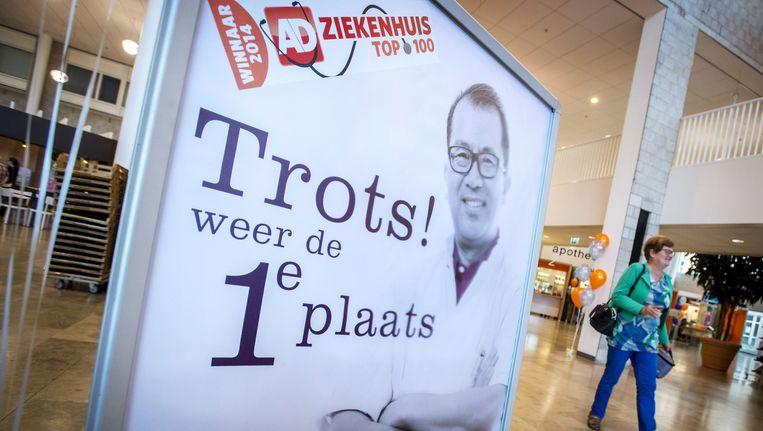 Het Albert Schweitzer ziekenhuis in Dordrecht is voor het 2e jaar op rij verkozen tot beste ziekenhuis van Nederland volgens de AD Ziekenhuis Top 100. Beeld anp