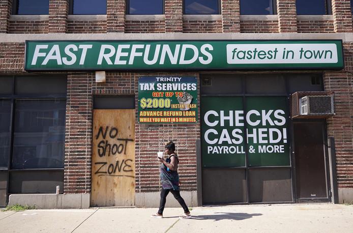 Straatbeeld uit Baltimore. Foto ter illustratie.