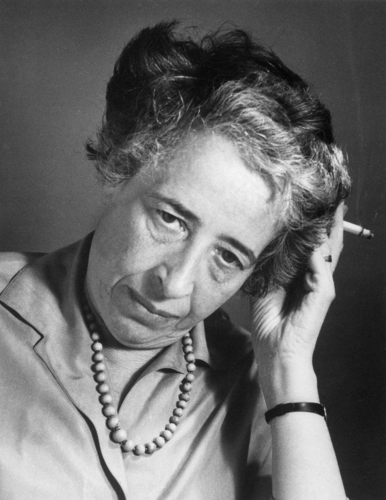 Hannah Arendt.  Beeld getty images