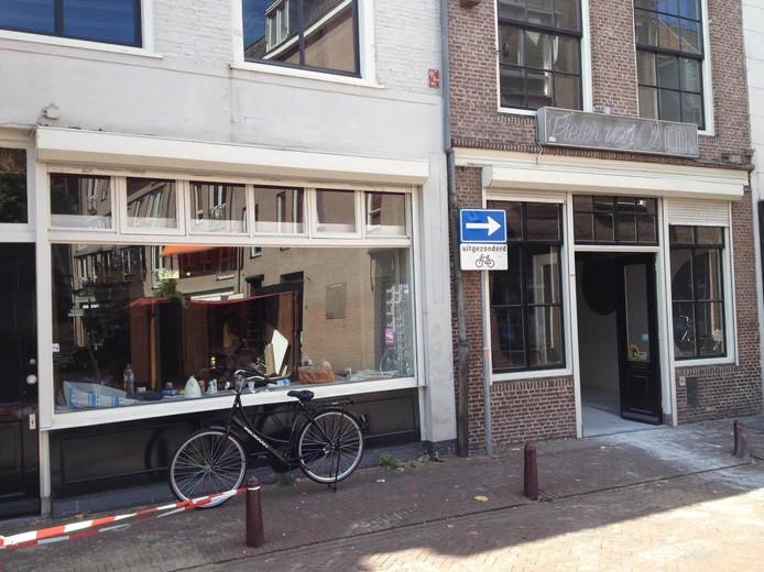 Werk bij Pieter van Os in de Snellestraat