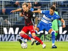 Diemers pikt snel aan bij Feyenoord: 'Ik ben blij dat Berghuis mij ook een goede speler vindt'