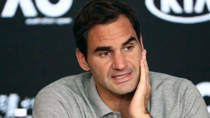 """Roger Federer ziet kansen voor het internationaal tennis in coronatijden: """"Het moment voor fusie tussen ATP en WTA"""""""