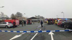 Colruyt-supermarkt ontruimd na brand