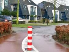 Gewraakte paal in Nijkerk wordt na een maand weer verwijderd vanwege onveilige situatie