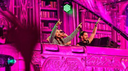 Van hot naar her: Dimitri Vegas & Like Mike staan uur na Tomorrowland alweer op Suikerrock