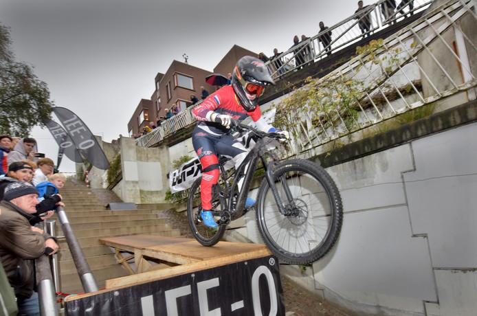 Beeld van de City Downhill in Nijmegen.
