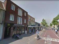 'Half door rood is fout en dus een beetje detailhandel op het Kloosterplein in Goirle ook'