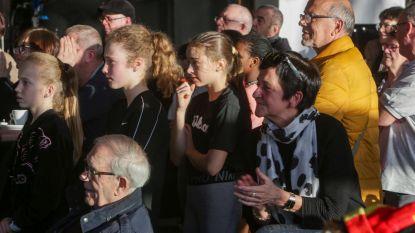 Zestigtal fans volgen comeback Kim Clijsters in de Academy van hun grote idool