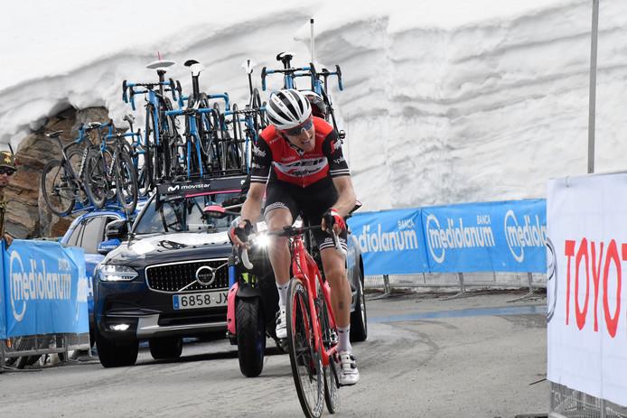 Bauke Mollema s'en prend aux motards du Giro.