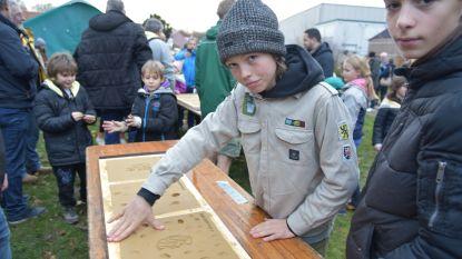 Scouts leggen eerste steen van langverwachte nieuwe lokalen