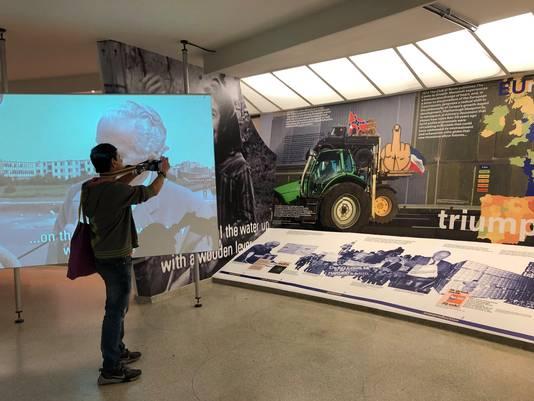 De tentoonstelling vertelt hoe het platteland in de afgelopen decennia ingrijpend veranderd is.