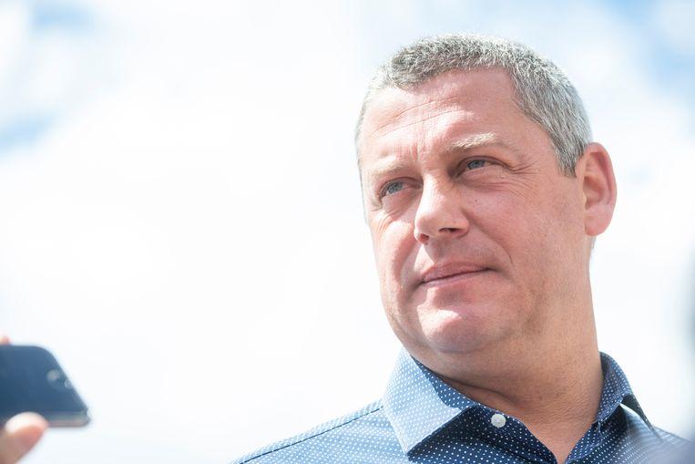 Uittredend burgemeester Dimitri Fourny  (cdH).