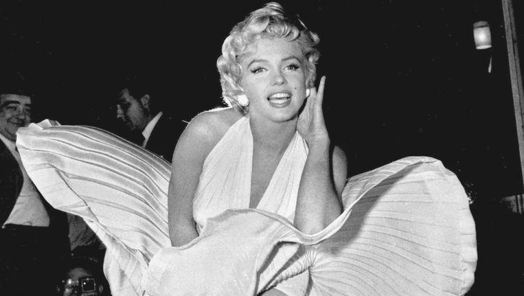 Marilyn in 1954. Beeld ap