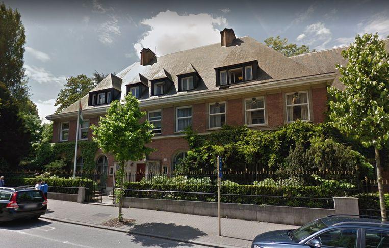 De Indiase ambassade.