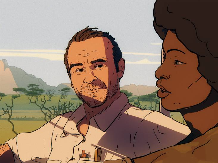 Ooggetuigenverslag van burgeroorlog als animatiefilm