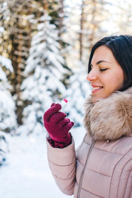 L'astuce pour ne plus avoir les lèvres gercées en hiver